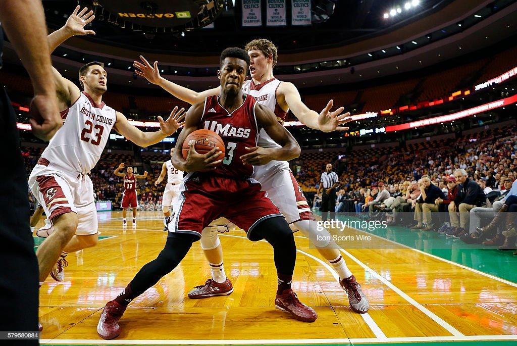 NCAA BASKETBALL: NOV 16 Coaches vs Cancer Tripleheader - Boston College v UMass : News Photo