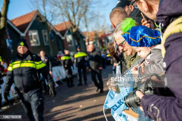 November 17th Zaanstad Like each year the first Saturday after 11 November the redandwhiteclad Sinterklaas arrives by steamboat to great fanfare The...