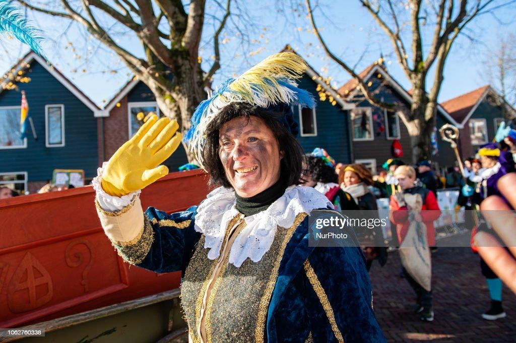 Saint Nicholas Arrives In Netherlands : News Photo