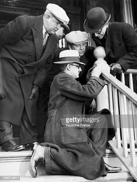 November 1933 Chicago Police Discovered Bloodstains On The Staircase On The Porch Of The House Of Schildhauer Which Can Lead Them To Solve The Case A...