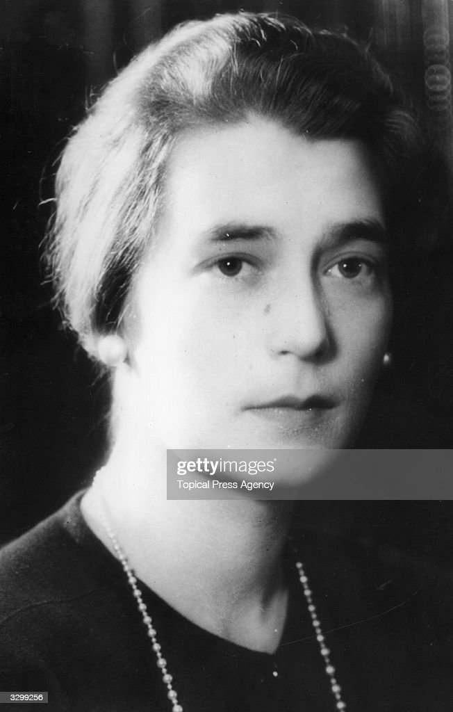 Grand Duchess Kira, (1909 - 1967), the daughter of Grand Duke Cyril of Russia. She was a bridesmaid at the wedding of Princess Marina of Greece to Prince George, Duke of Kent.