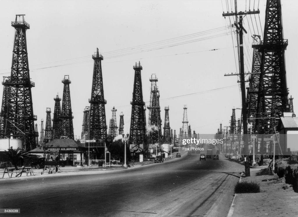 Oil Wells : News Photo
