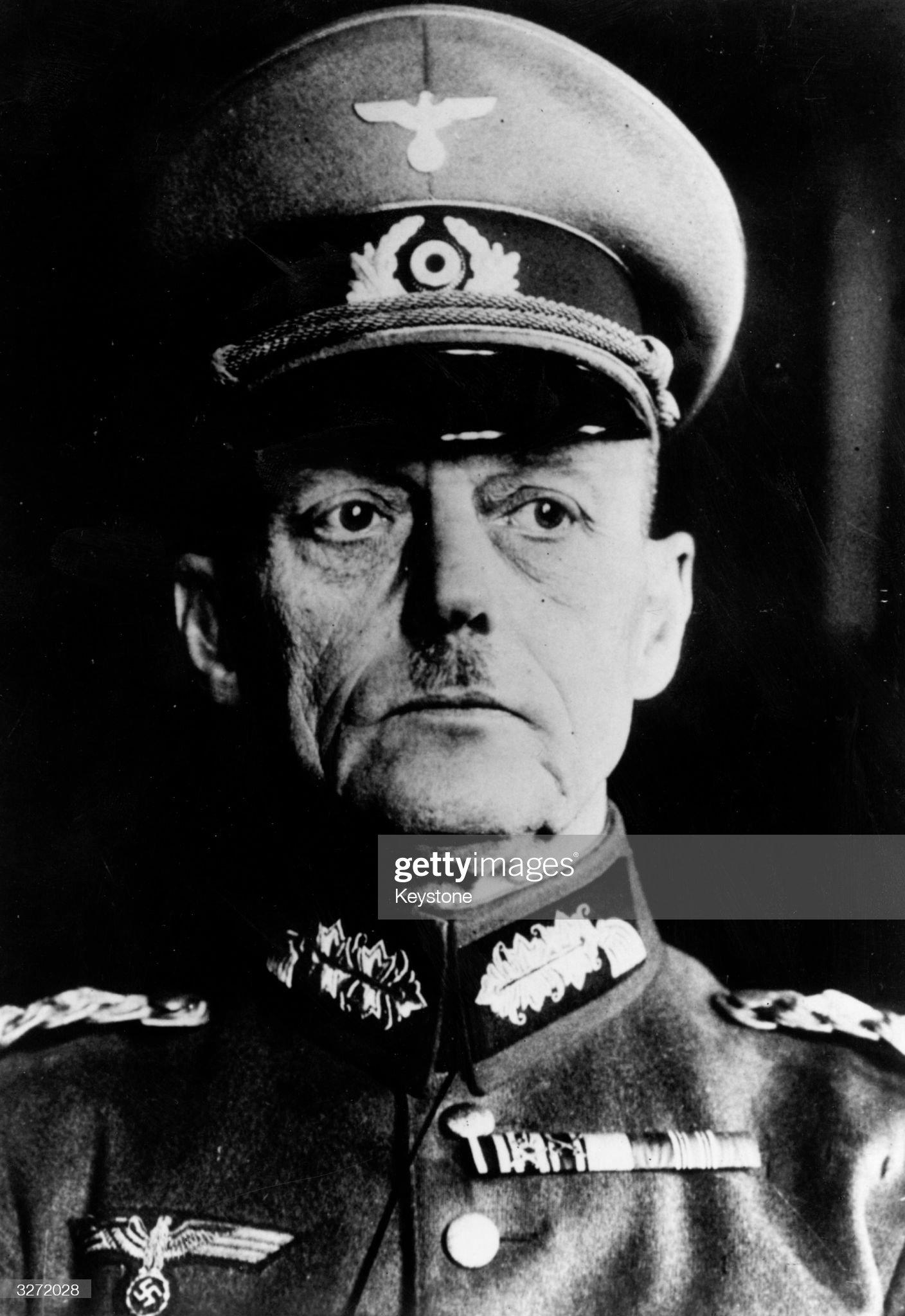 Karl Von Rundstedt : Nachrichtenfoto