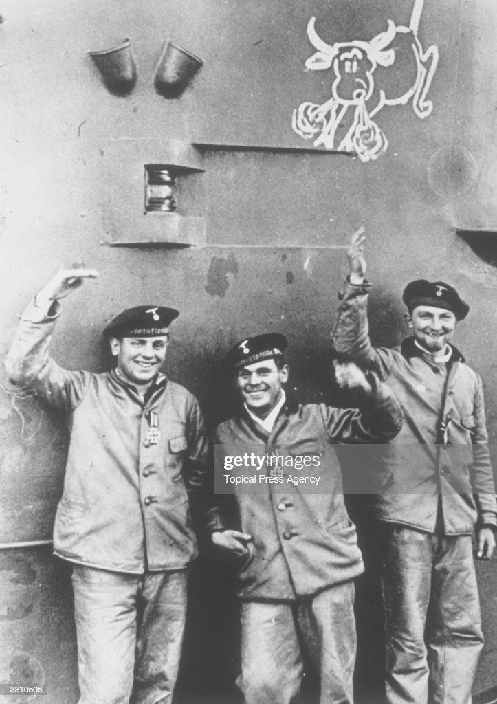 U-Boat Crew : News Photo