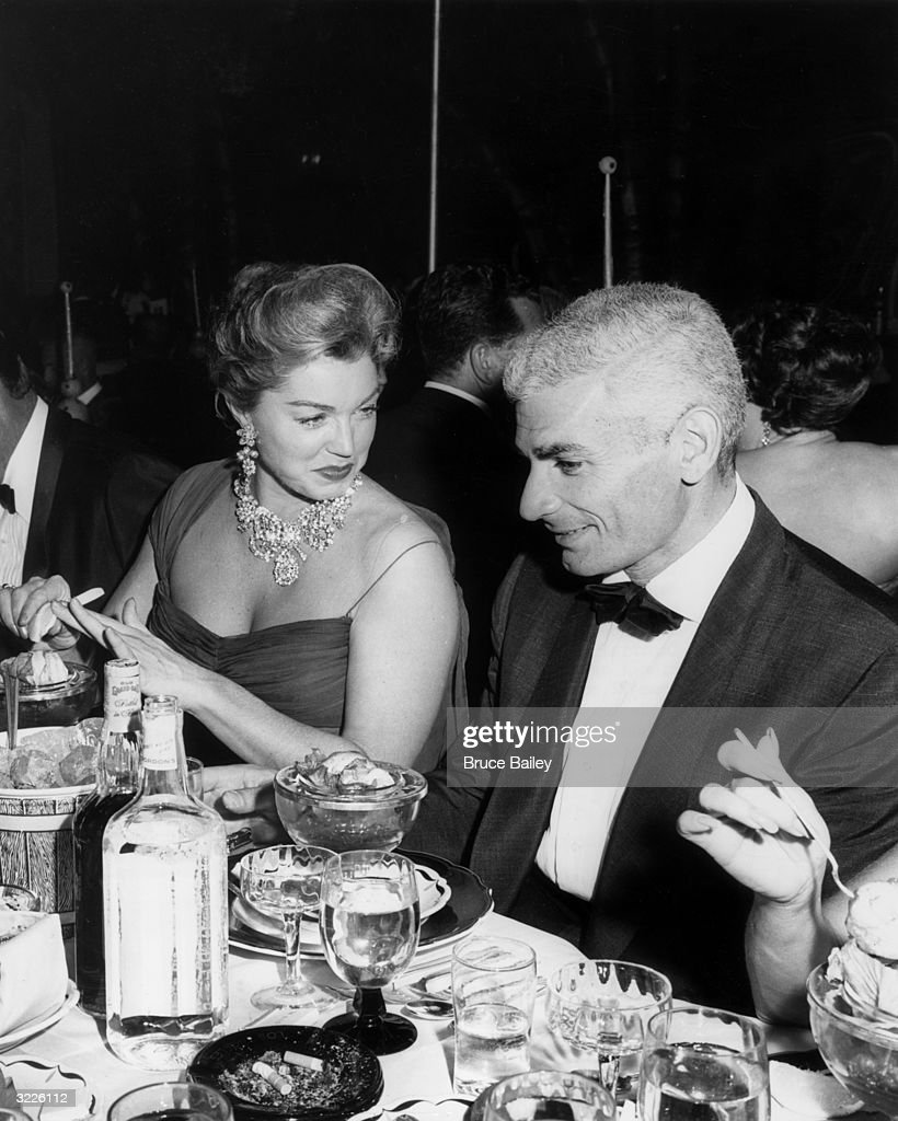 Actors Jeff Chandler and Esther Williams were guests of honor at the WAIF Imperial Ball held at the Cocoanut Grove, Los Angeles, California.
