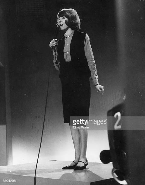Pop singer Cilla Black, the Liverpudlian lovely discovered by The Beatles, later famous as a television personality and presenter.