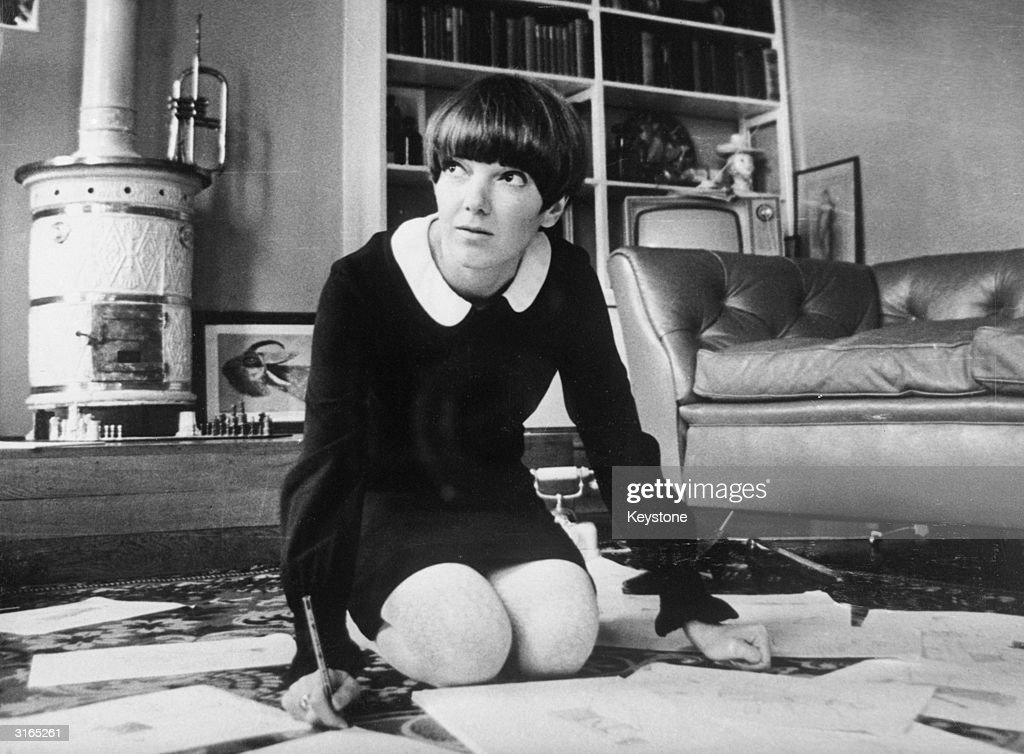 Chelsea fashion designer and make-up manufacturer Mary Quant.