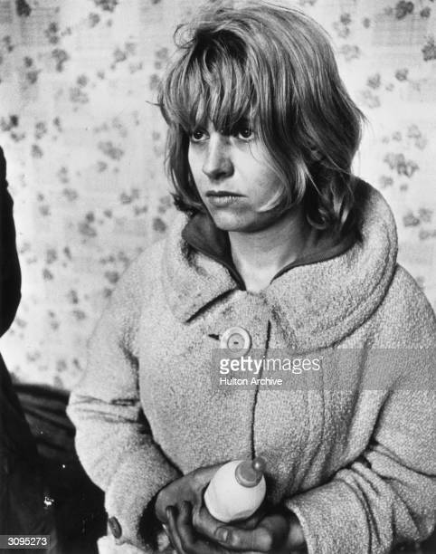 Actress Carol White starring in Ken Loach's film 'Cathy Come Home' about a woman who loses everything to the Welfare State The film was orignally...