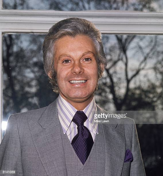 Female impersonator and singer Danny La Rue at the Savoy Hotel in London