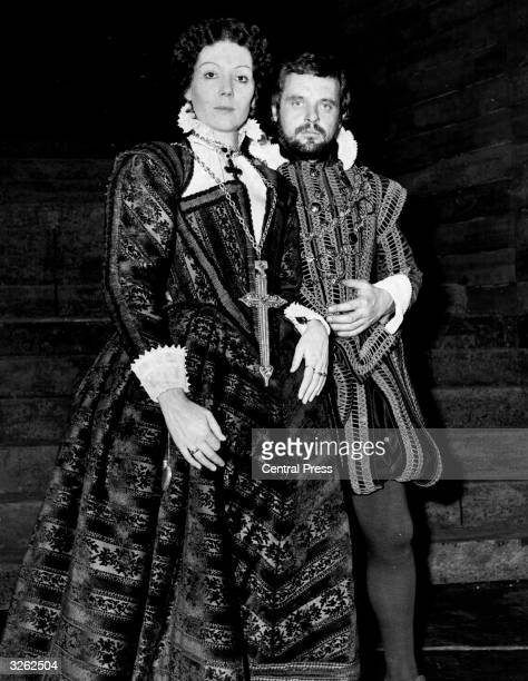 Anthony Hopkins and Diana Rigg as Macbeth and Lady Macbeth for a National Theatre production at the Old Vic.