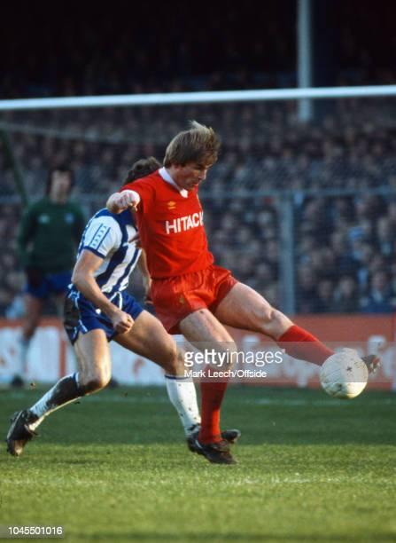November 1979 - Football League Division 1 - Brighton & Hove Albion v Liverpool - Kenny Dalglish controls the ball - .