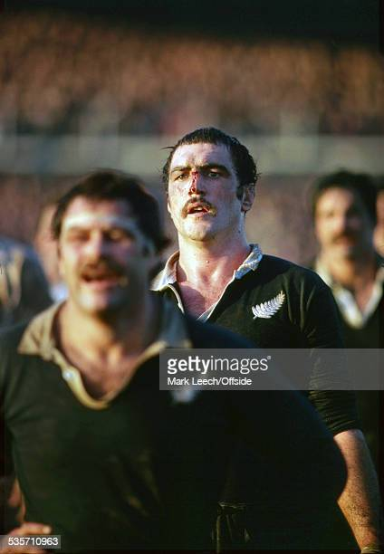 November 1979, New Zealand Rugby Union Tour of England, Scotland and Italy, South-West and South Division v New Zealand, John Fleming of New Zealand...