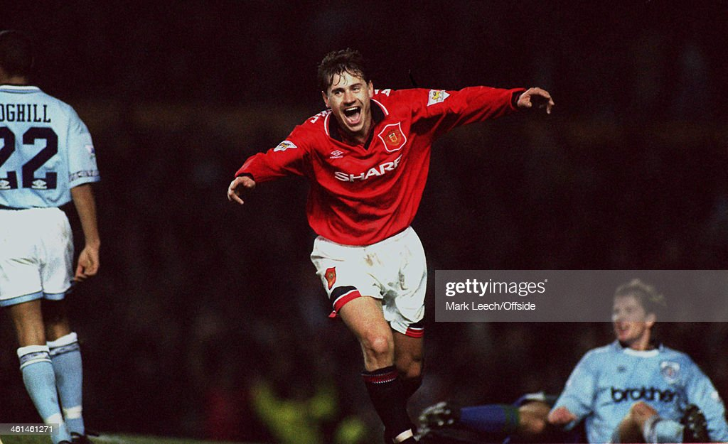 Andrei Kanchelskis Manchester United FC 1994 : News Photo