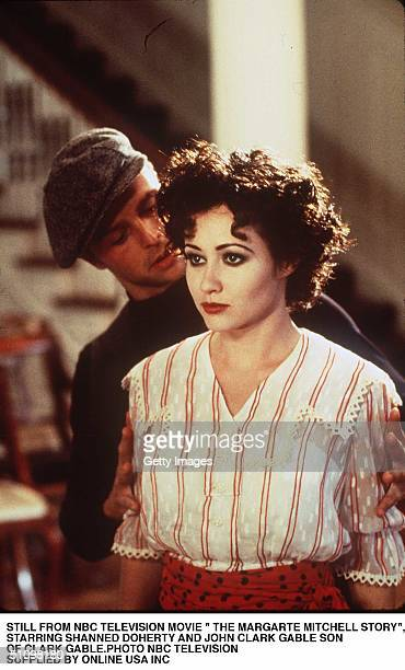 November 1994Still From Nbc Television Movie The Margaret Mitchell StoryStarring Shannen Doherty And John Clark Gable Son Of Clark Gable Who Starred...