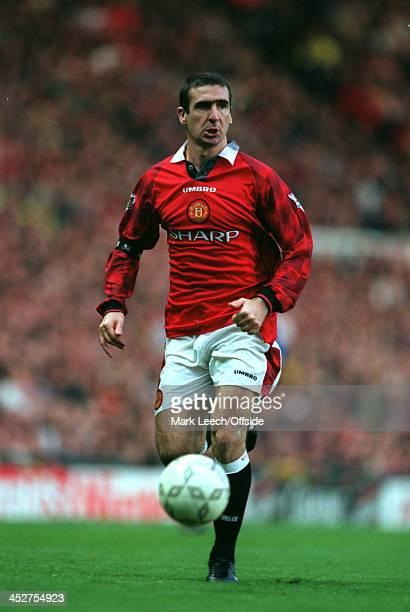02 November 1996 FA Carling Premiership Manchester United v Chelsea Eric Cantona of Manchester United