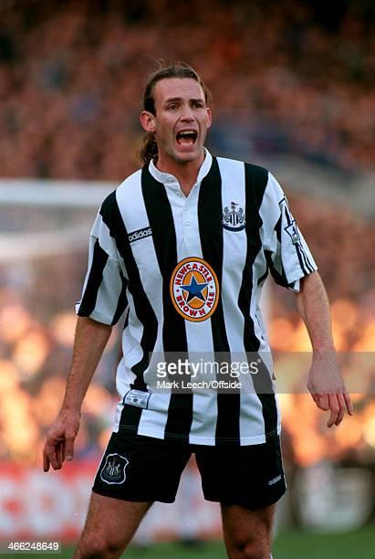 23 November 1996 Premiership Chelsea v Newcastle United Darren Peacock of Newcastle