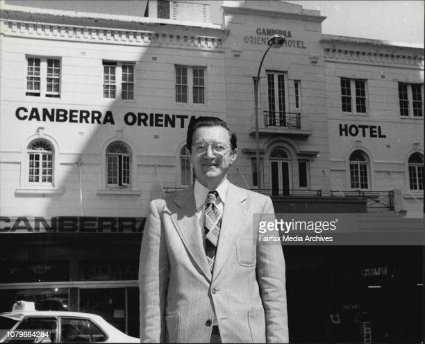 November 1st is the 25th birthday of the Canberra Oriental hotel at Kings CrossThe manager of the hotel Mr Bert Allan October 31 1979