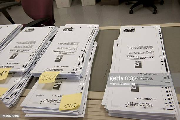 November 2 2012 HEADERS FOR ABSENTEE BALLOTS ORGANIZED BY PRECINCT This room processes all Absentee Ballots that are returned from other Precincts...