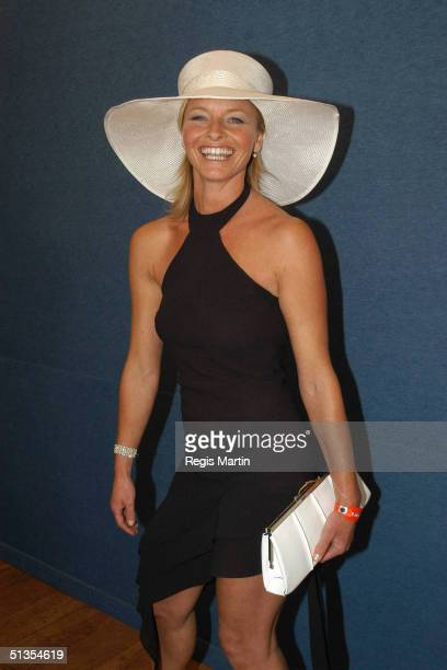 4 November 2003 Australian actress TAMMY MACINTOSH at the Flemington Racecourse for the Melbourne Cup Day during the Melbourne Cup Carnival 2003...