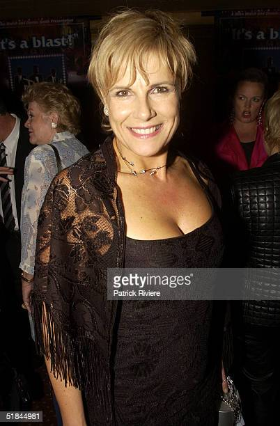 12 November 2003 SUSIE ELELMAN attends The Rat Pack after show party following the opening night at the Enmore Theatre Sydney Australia