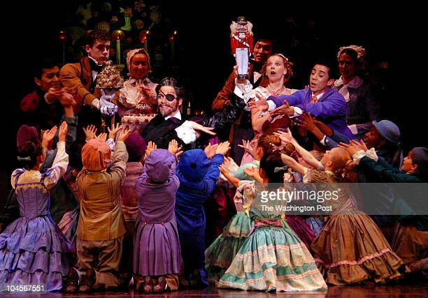 November 2006 CREDIT Katherine Frey / TWP Washington DC Dress Rehearsal of Chicago's Joffrey Ballet The Nutcracker Brian McSween who plays Dr...