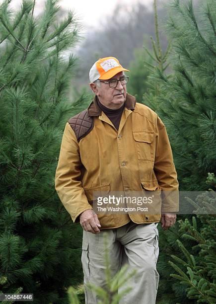 November 2006 CREDIT TRACY A WOODWARD / TWP Oaksworth Farm on Rt 15 South of Leesburg VA Marian Czarnecki retired Christmas Tree farmer at his old...