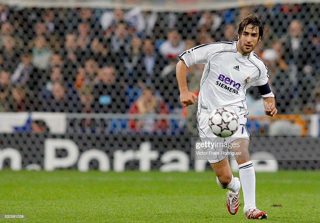 LFP - Real Madrid Raul Gonzalez : News Photo