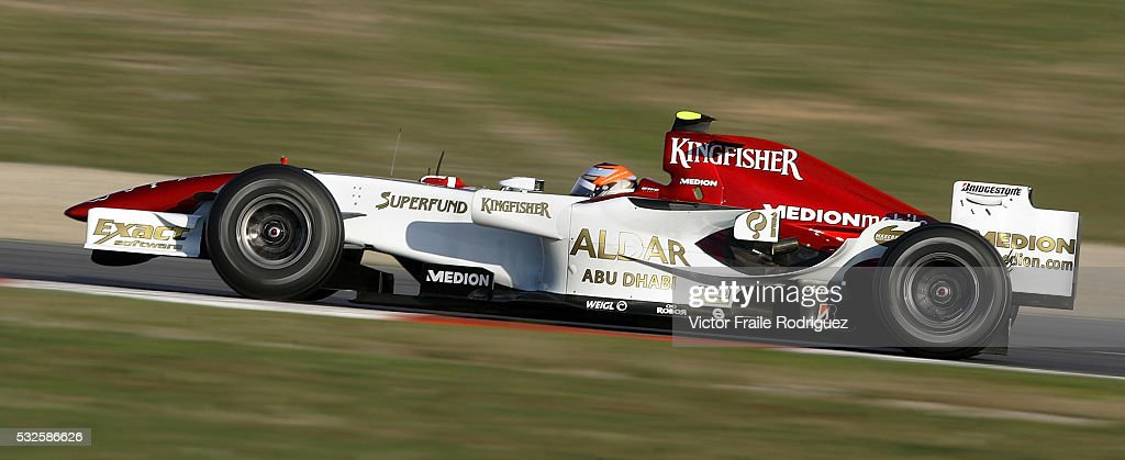 Formula One - Force India - Roldan Rodriguez : News Photo