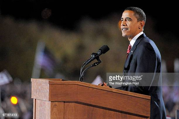 November 2008 CREDIT Preston Keres / TWP Chicago Ill Barack Obama campaign coverage