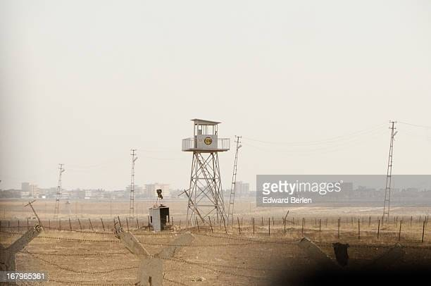 CONTENT] 16 November 2010 Border between Syria and Turkey along the way from Oguz to Nusaybin Beyond the barbed wire is a mine field