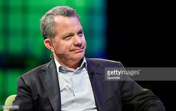 6 November 2014 Bill McGlashan Founding Partner TPG Growth on the centre stage during Day 3 of the 2014 Web Summit in the RDS Dublin Ireland Picture...