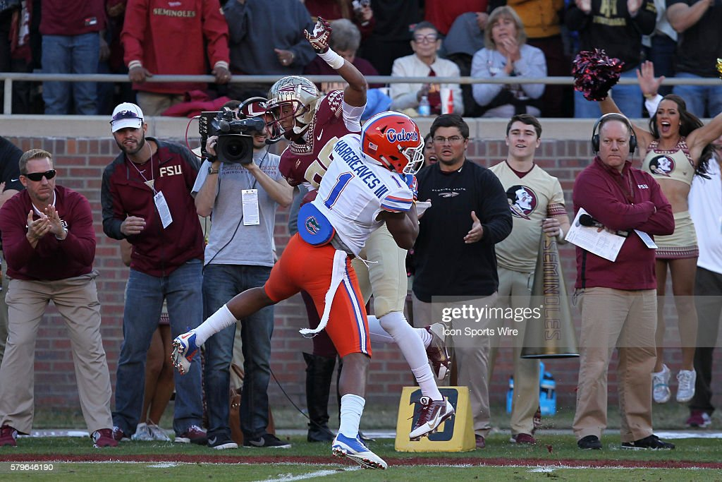 NCAA FOOTBALL: NOV 29 Florida at Florida State : News Photo