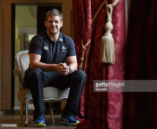 6 November 2014 Ireland's Chris Henry during a press briefing ahead of their Autumn International match against South Africa on Saturday at the Aviva...