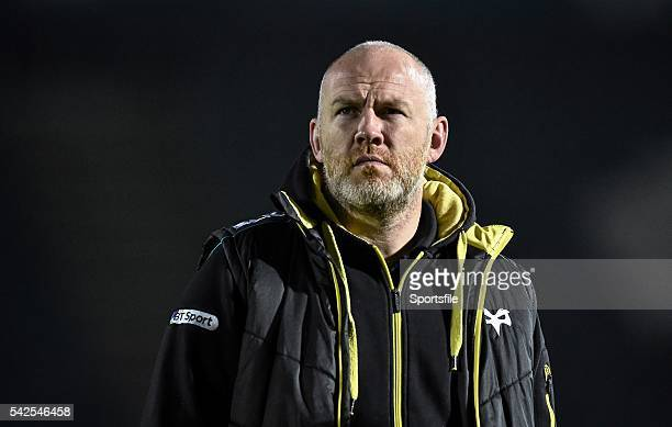 29 November 2014 Ospreys head coach Steve Tandy ahead of the game Guinness PRO12 Round 9 Leinster v Ospreys RDS Ballsbridge Dublin Picture credit...