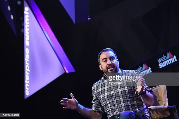 4 November 2015 Alex Stamos CSO Facebook on the Enterprise Stage during Day 2 of the 2015 Web Summit in the RDS Dublin Ireland Picture credit Brendan...