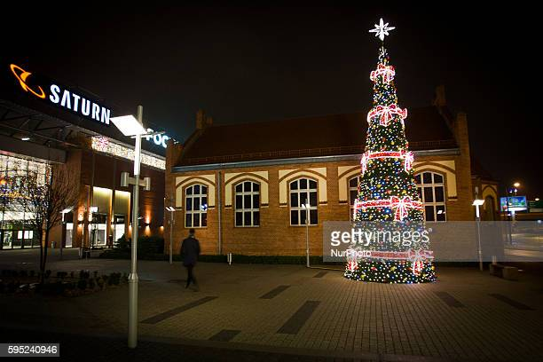 November 2015 Christmas lighting is seen at shopping venues Almost two months ahead of Christmas shops are getting ready to attract customers to go...