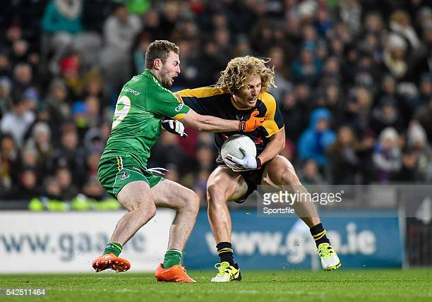 21 November 2015 David Mundy Australia in action against Jack McCaffrey Ireland EirGrid International Rules Test 2015 Ireland v Australia Croke Park...