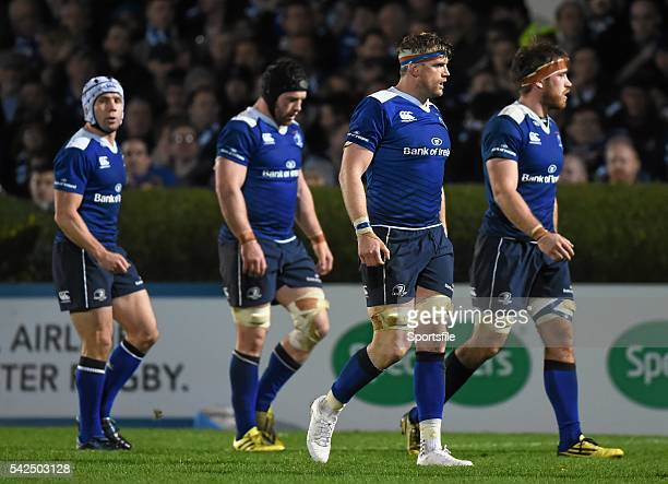 November 2015; Leinster players, from left, Isaac Boss, Sean O'Brien, Jamie Heaslip and Dominic Ryan. Guinness PRO12, Round 7, Leinster v Scarlets....