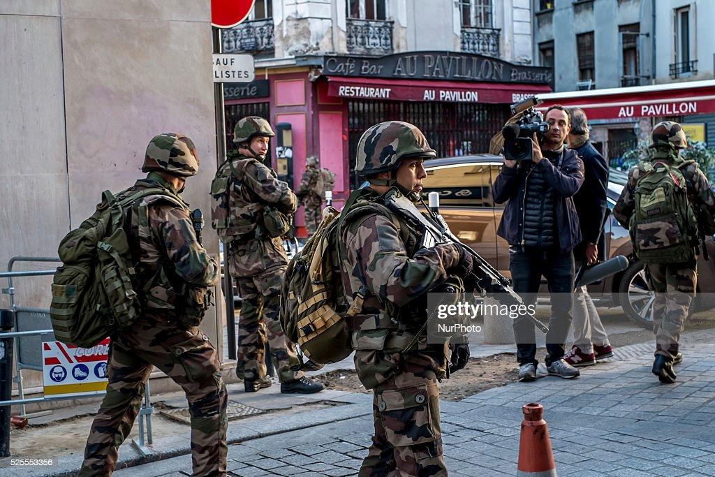 Paris terrorist attack : News Photo