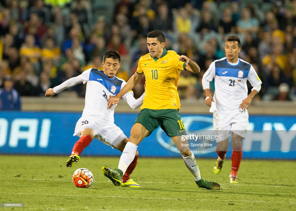 SOCCER: NOV 12 Australia v Kyrgyzstan : News Photo