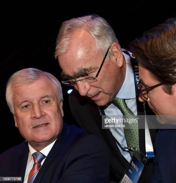 Scheuer Andreas D Politiker 5 November 2016 Seehofer Horst D Politiker Ministerpraesident Bayern CSU Vorsitzender 5 November 2016 Waigel Theo D...