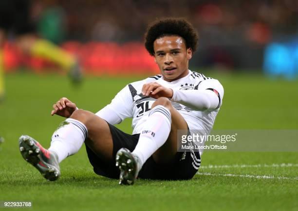 Friendly International Football Match England v Germany Leroy Sane of Germany