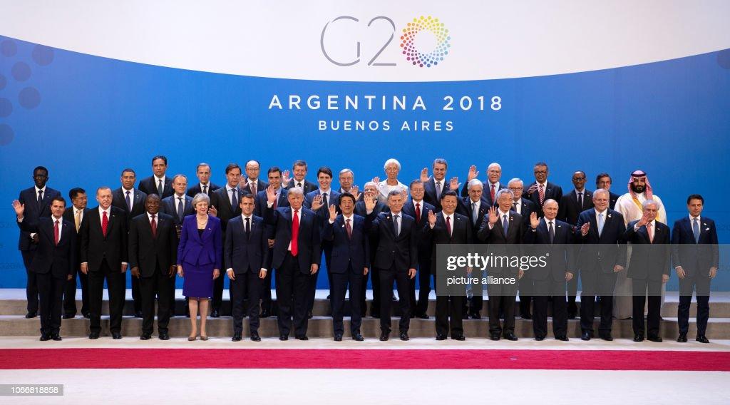 G20 Summit in Argentina : News Photo