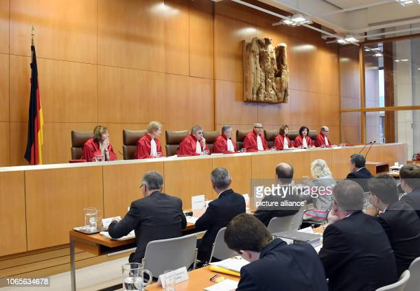27 November 2018 BadenWuerttemberg Karlsruhe The Second Senate of the Federal Constitutional Court Christine Langenfeld Doris König Peter Müller...