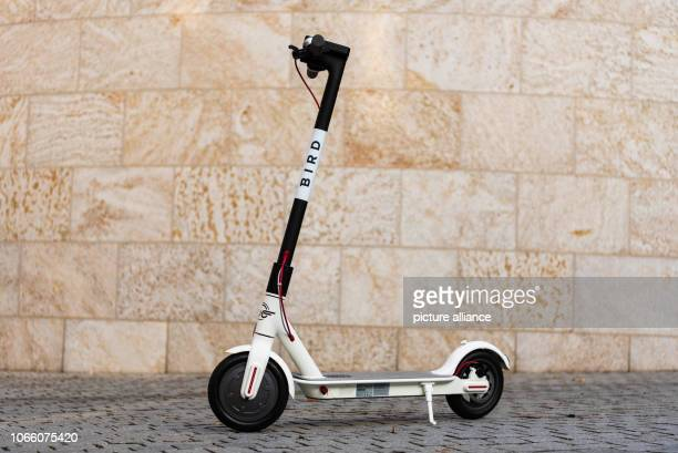 An electric scooter of the US American escooter sharing provider Bird can be seen on a square Bamberg will be the first city in Germany where...