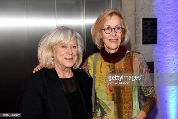 Margarethe von Trotta director and Dagmar Hirtz director are together at the award ceremony of the German Director's Prize Metropolis at the...