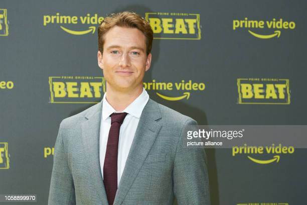 Actor Alexander Fehling at the premiere of the Amazon Prime series 'Beat' at the power plant Photo Annette Riedl/dpa