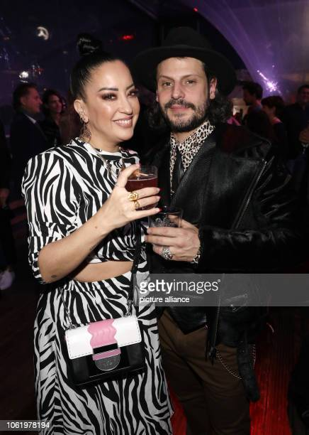 Actor Manuel Cortez and girlfriend Miyabi Kawai attend the presentation of the New Faces Award Style 2018 of the people magazine Bunte in Spindler...
