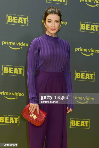 Actress Anna Bederke at the premiere of the Amazon Prime series 'Beat' at Kraftwerk Berlin Photo Annette Riedl/dpa