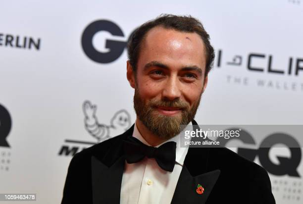 "November 2018, Berlin: James Middleton comes to the gala ""GQ Men of the Year 2018"". Photo: Jens Kalaene/dpa"